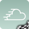 Racing Elements - A unique racing-themed weather app featuring over 60 years of historic Grand Prix